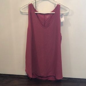 Loft Outlet Pink Sleeveless Tank